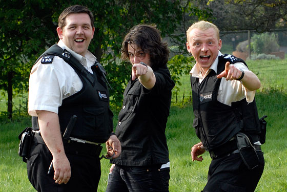 Edgar Wright, Simon Pegg, Nick Frost