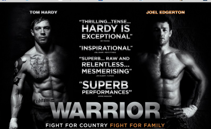 Warrior - Tom Hardy - Joel Edgerton