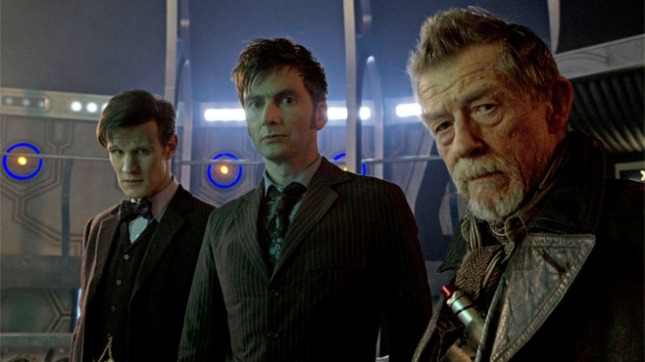 Matt Smith, David Tennant and John Hurt - The Doctor