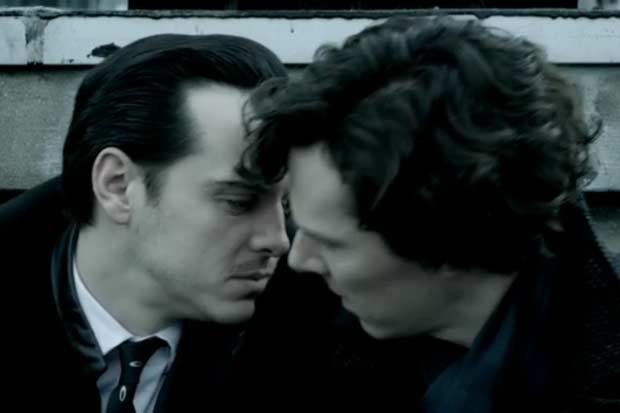 Sherlock and Moriarty slash!