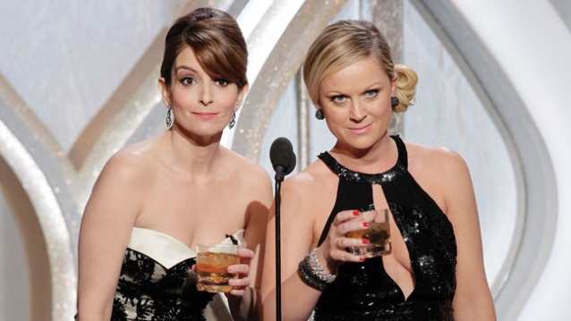 Tina and Amy - Golden Globes