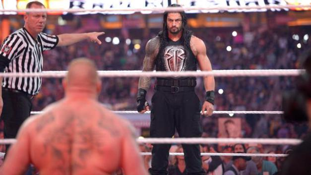 wrestlemania-31-reigns-faces-off-with-lesnar